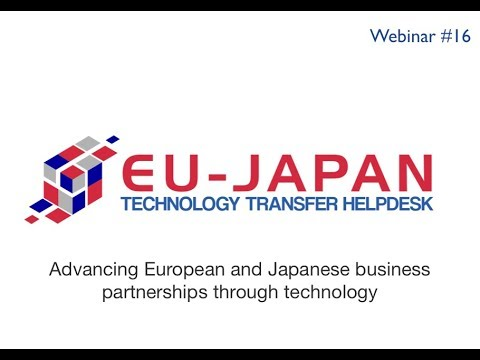 Webinar # 16: Advancing European and Japanese business partnerships through technology