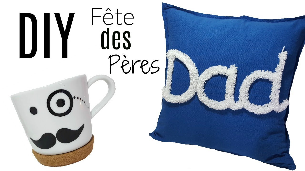 diy cadeaux f te des p res 3 id es pour petit budget youtube. Black Bedroom Furniture Sets. Home Design Ideas
