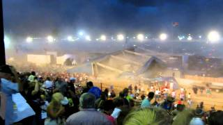 Indiana : Fair Stage Collapse : 5 deaths : youtube video