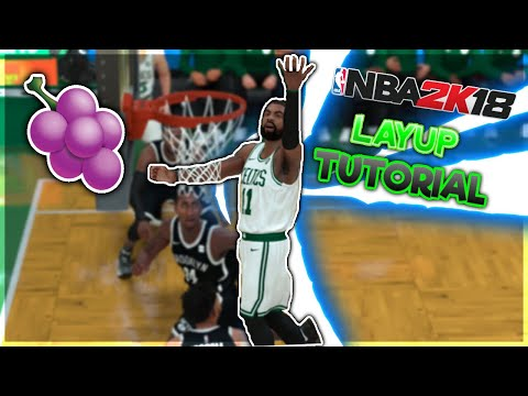 NBA2k19 Mobile Ios / Android Layup Tutorial Shake N Bake , Euro Step ... MyCourt Practice UPDATE