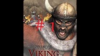 Let´s Play Medieval 1 Total War Viking Invasion Part 1 [German][HD][Normal] die Zeit der Dunkelheit