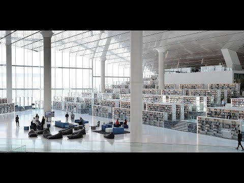 Qatar National Library (QNL) building Opens