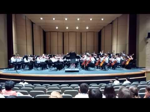 Newhart Middle School String Ensemble March 24 - Festival Performance at San Juan Hills H.S.