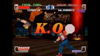 PSX Longplay [106] Fatal Fury - Wild Ambition