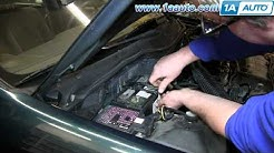 How To Replace Battery 92-00 Honda Civic