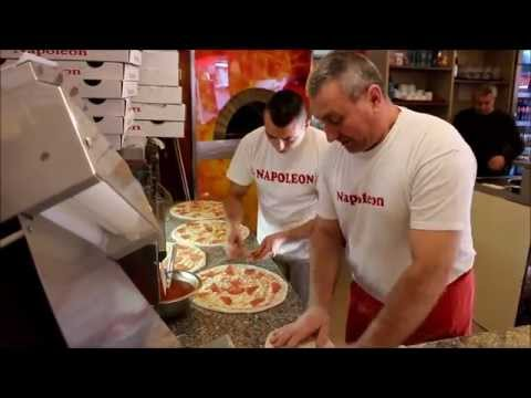 Prin bucatarie - Pizzeria Napoleon Timisoara