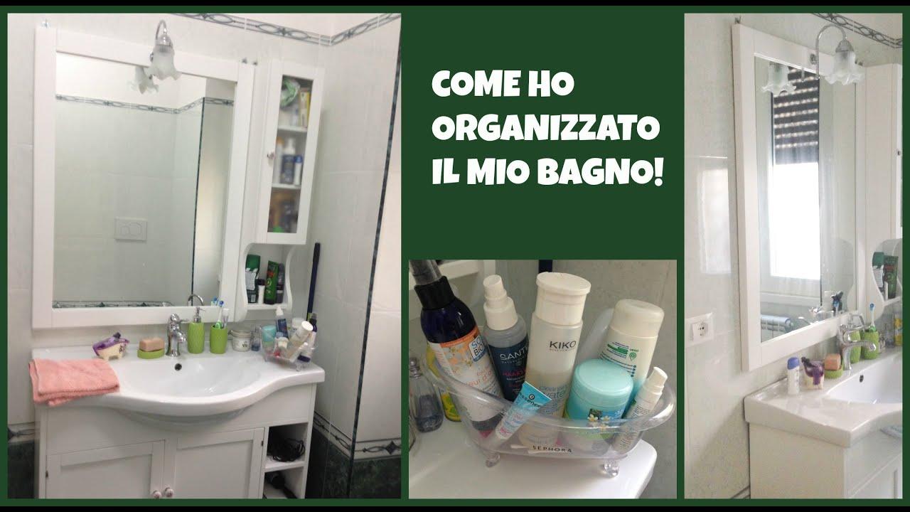 Bathroom tour what 39 s in my shower youtube - Come abbellire il bagno ...