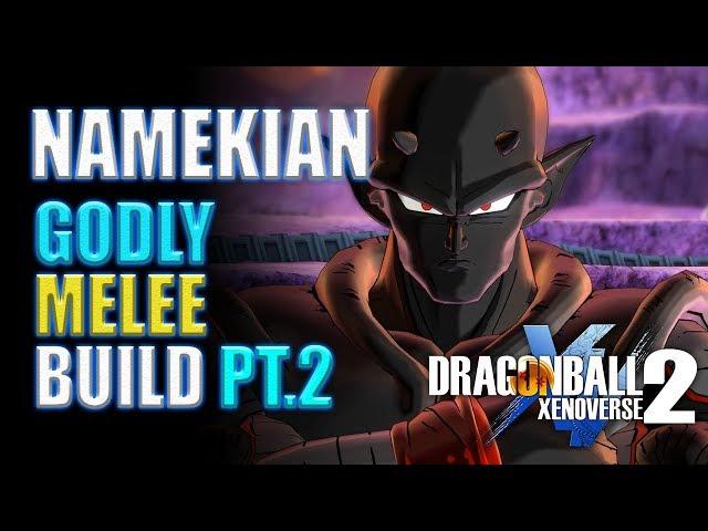 Dragonball Xenoverse 2 - Namekian Kaioken Demon Build #2 !!! (Ep 02 - Father to Son Showdown)