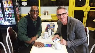 Gary Meets Ian Wright || On The Road To FA Cup Glory
