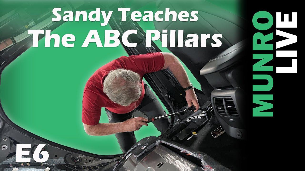Sandy teaches the ABC Pillars on the Mach-E