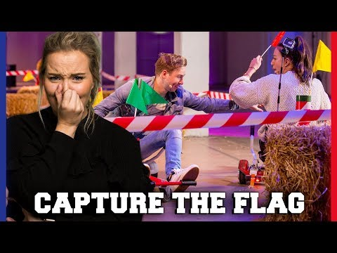 JILL IS BANG BIJ CAPTURE THE FLAG CHALLENGE?! | Jill, Sophie, Dylan, Quinty | Challenges Cup#20