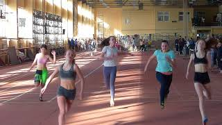24 02 2018 Все забеги на 60 м Девушки