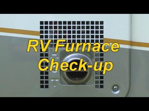 RV Furnace Preventive Maintenance Checks