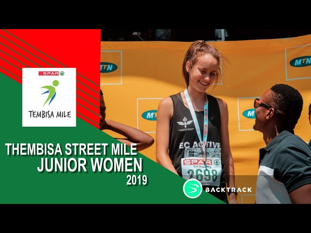 2019 Tembisa Mile Junior Women's Race