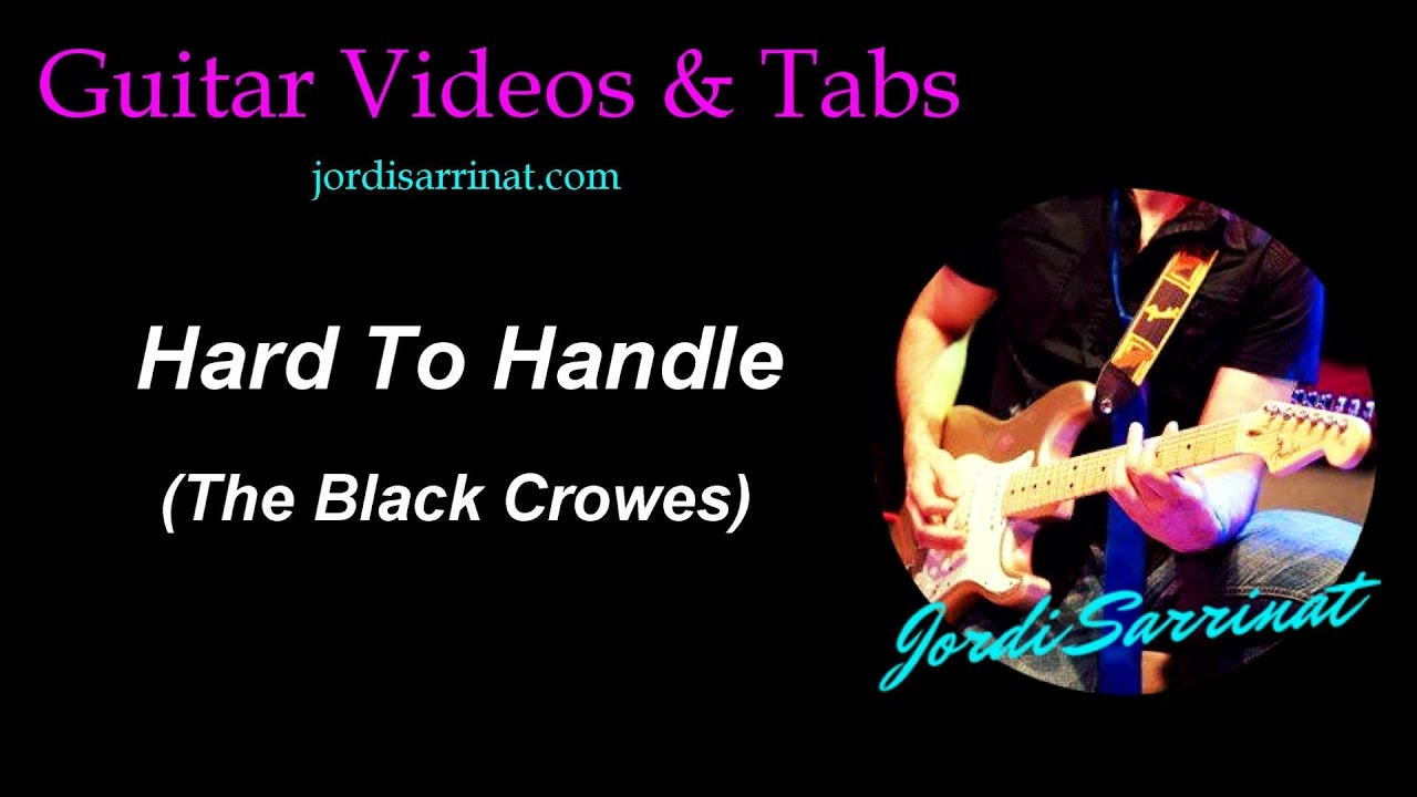 ☆ hard to handle (the black crowes) ☆ drum lesson preview | how.