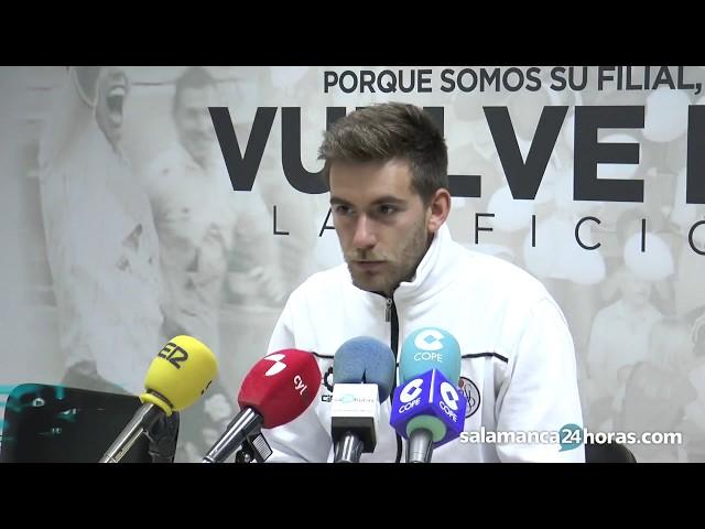 Rueda de prensa de Pablo Cortés tras el Salmantino - Zamora