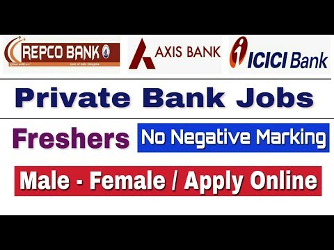 Private Bank Jobs 2019 II Private Bank Recruitment 2019 II How to Apply online II Learn Technical
