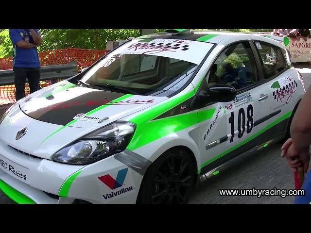 Svolte di Popoli 2018 - Roberto Mori su Renault Clio RS