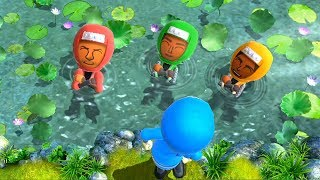 Wii Party U - All Water Minigames
