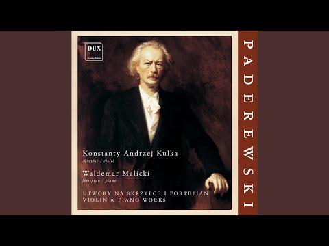 Violin Sonata in A Minor, Op. 13: I. Allegro con fantasia