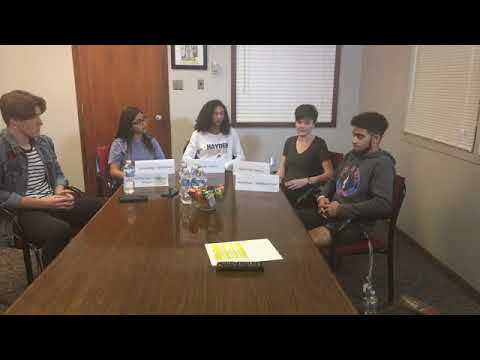 Facebook Live panel with 5 Topeka high schoolers talking school safety