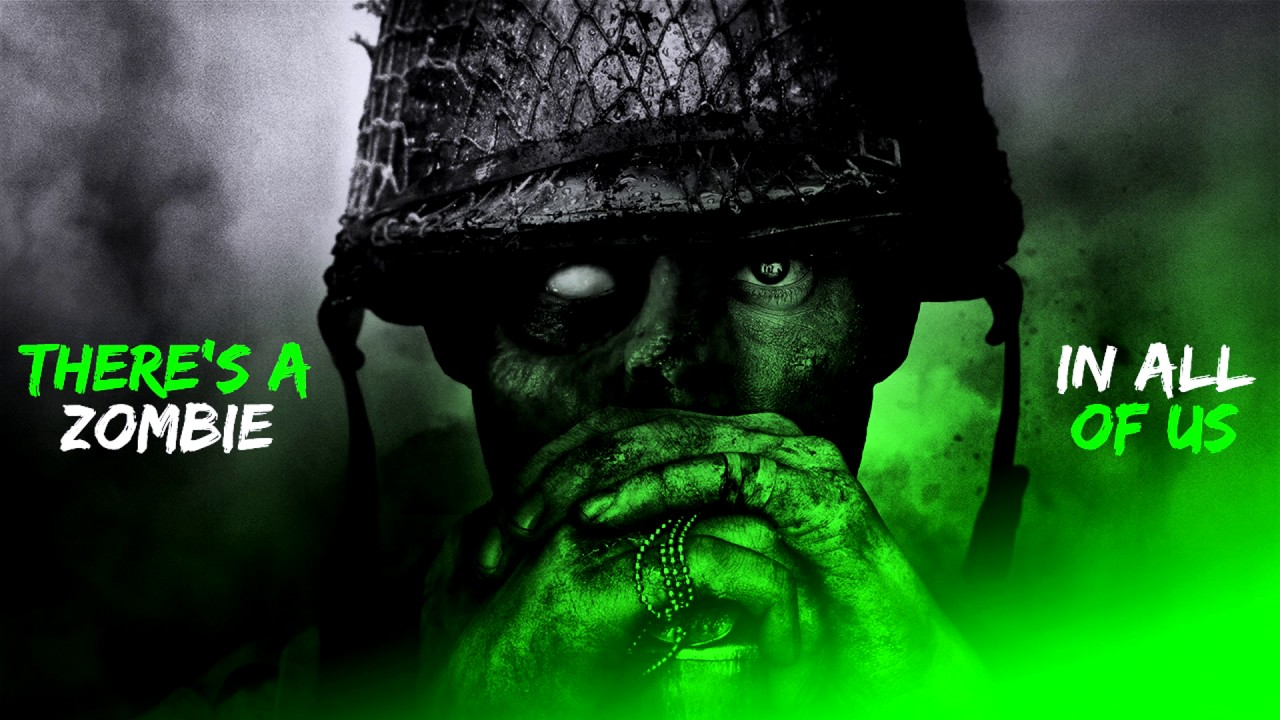 Call Of Duty Ww2 Zombies Wallpaper: *FREE* Call Of Duty: WWII Desktop Wallpaper, Header, And