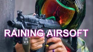 Airsoft in the Pouring Rain! (World Conflict: Glacio 2 - Part 3) Ballahack Airsoft