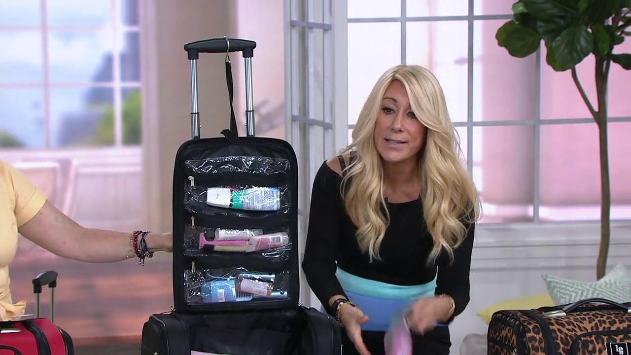 Weekender Travel Bag With Set Of 2 Toiletry Bags By Lori Greiner