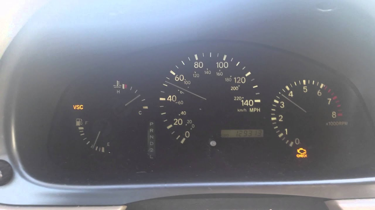 Maxresdefault on Lexus Rx 300 Check Engine Vsc And Trac Off Lights Car