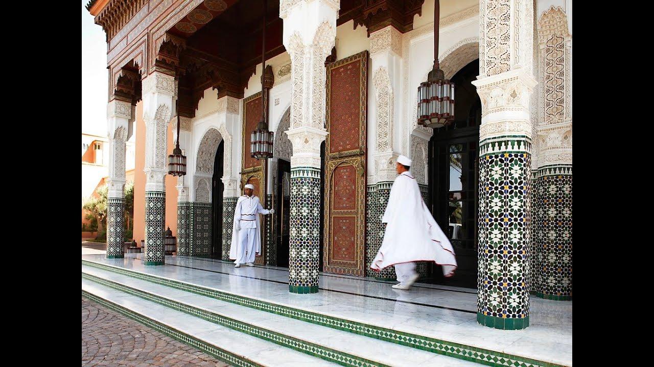 Hôtel La Mamounia, Un établissement De Luxe Aux Traditions Hospitalières  Marocaines   YouTube