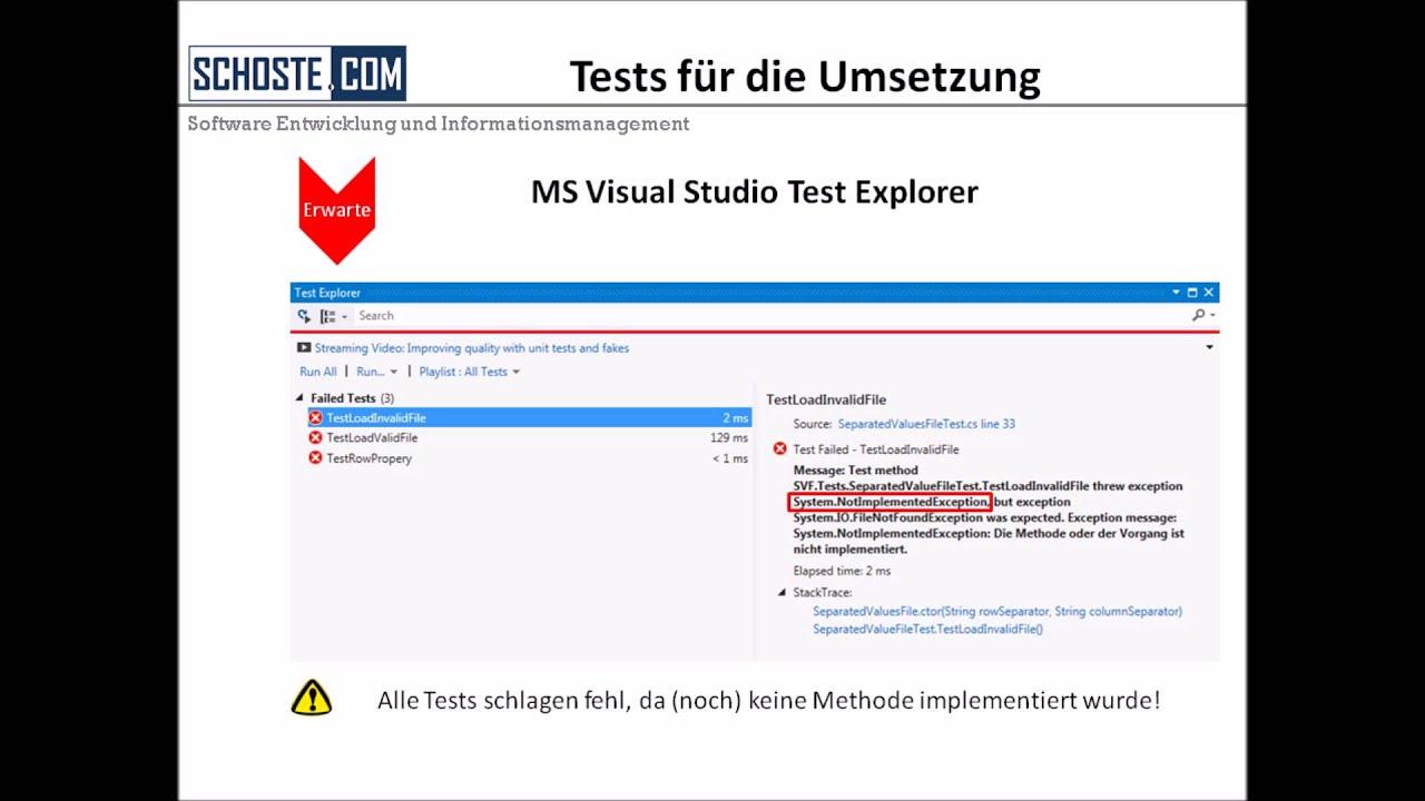 Test driven development in c und tfs deutsch youtube test driven development in c und tfs deutsch baditri Images