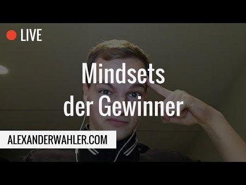 🔴 Livestream - Die Mindsets der Gewinner