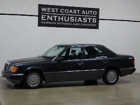 1991 Mercedes Benz 300e Youtube