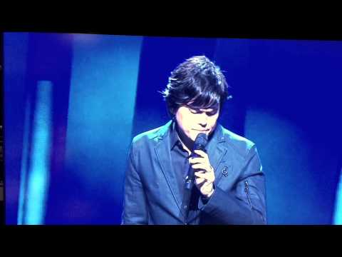 Pastor Joseph Prince' singing in spirit