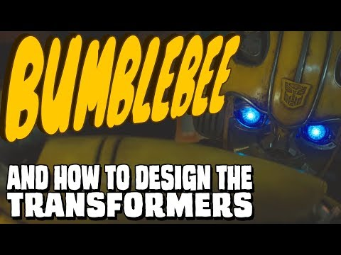 Bumblebee and how to design the Transformers || The Kiki/Bouba Effect