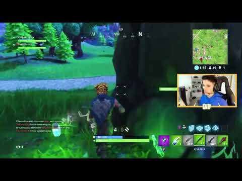 Live gameplay of the burnt chip being killed by my duo