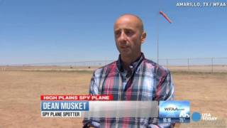 sky watchers in amarillo texas photographs secret military aircraft