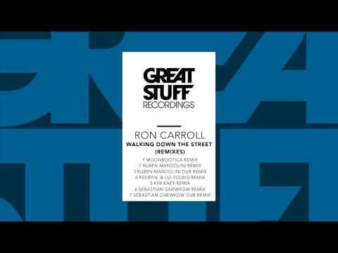 Клип Ron Carroll - Walking Down The Street