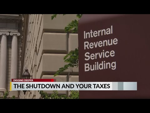 How will the federal government shutdown affect tax returns