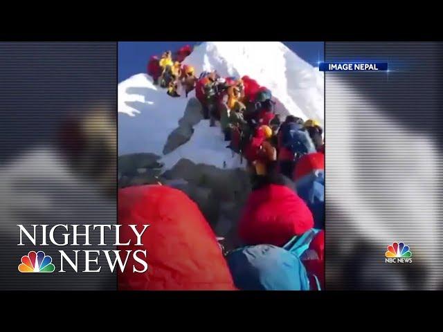 Death Toll Rises On Mt. Everest,  Concerns Of Overcrowding On World's Highest Peak | Nightly News