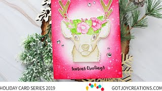 Gambar cover Got Joy Creations Holiday Card Series 2019 - Ink On 3