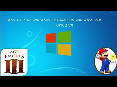 How To Play Older Version Windows Xp Games In Windows 8