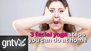 Facial yoga: 3 ways to do it at home