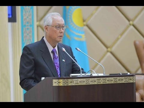 Goh Chok Tong's address at the Kazakhstan Parliament