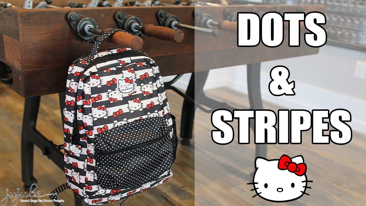 a8950c498 Ju-Ju-Be Hello Kitty Dots & Stripes Fashion Bags and Backpacks ...