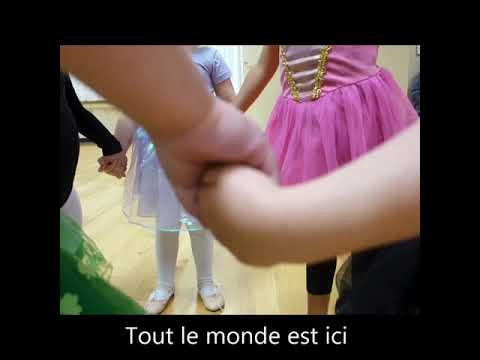 Cute Ballet Class 'Bonjour' Song by Miss Ella