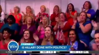 The View [November 9, 2016]: Reaction to Donald Trump Win as President of United States #TheView