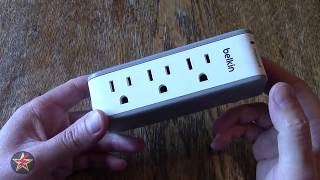 Belkin SurgePlus USB Swivel Surge Protector and Charger Review