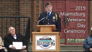 Miamisburg Veterans Day 2019