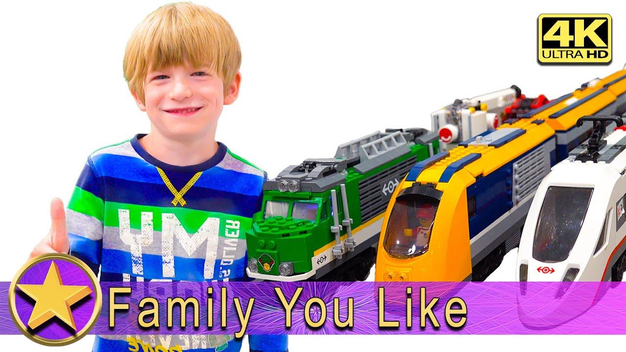 LEGO Trains - Underwater Robot Attacks Train - Train Crash - 4K